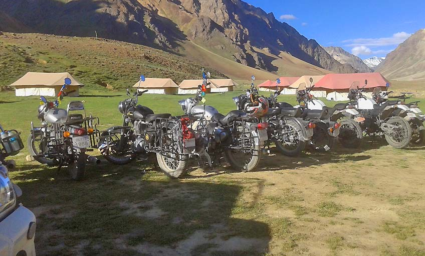 Ladakh Motor Bike Tour